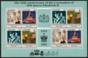 Lesotho 959 MNH Queen Elizabeth II, Royal Family
