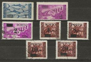 Yugoslavia Istria & Slovenia 36-37 MNH & J3////J7 used  409368