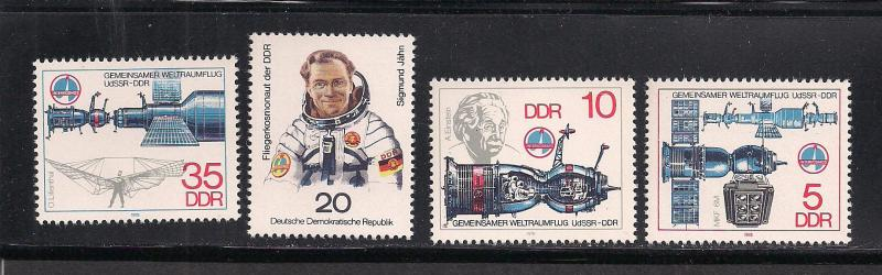 GERMANY - DDR SC# 1945-8 F-VF MNH 1978