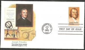 USA 2038 - FDC - Joseph Priestley