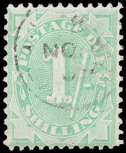 Australia Scott J34, perf. 11.5x11 (1908-09) Used F-VF, CV $17.50 M