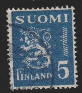 Finland 176D Arms of Finland 1945