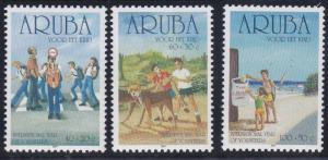 Aruba B64-B66 MNH (2001)