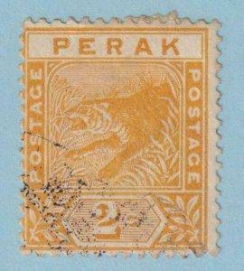 MALAYA - PERAK 44  USED - NO FAULTS VERY FINE!