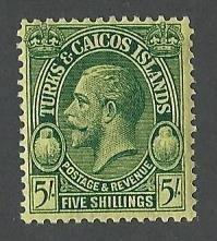 Turks and Caicos    mnh S.C. 69