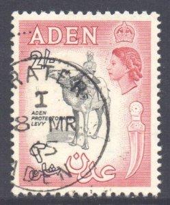 Aden Scott 75 - SG86, 1964 Saint Edward's Crown CA 2/- used