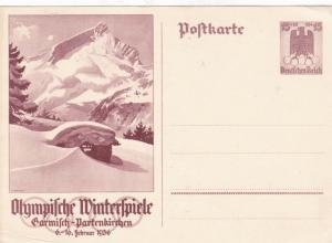 german 1930's unused stamps postcard Ref 9400