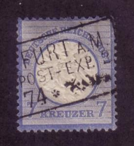 Germany  Sc. # 24 Used