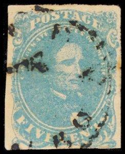 CONFEDERATE STATES 4b  Used (ID # 100904)