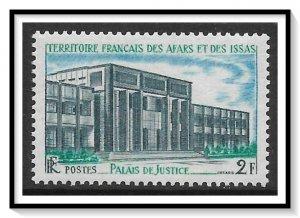Afars & Issas #325 Justice Building MNH