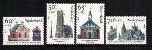 Netherlands   b611 - b614  MNH $ 3.20