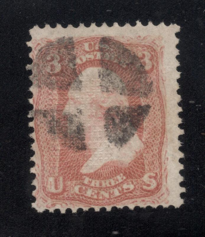 US#94 Rose Red - F Grill - Quartered Cork Cancel