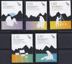 New Zealand - Ross Dependency L109-L113 MNH (2009)