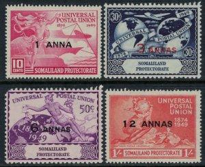 Somaliland Protectorate #112-5*  CV $3.95
