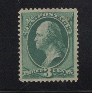US Stamp Scott #185 Mint NO GUM SCV $35