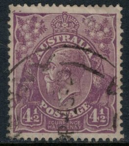 Australia #74a  CV $32.50