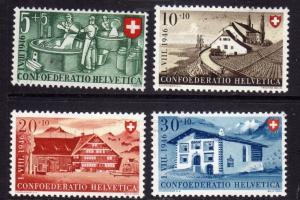 SWITZERLAND SUISSE SCHWEIZ SVIZZERA 1946 NATIONAL FETE NATIONALE FESTA NAZION...