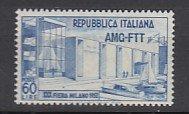 J25739 1952 italy - trieste mnh #144 ovpt