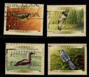 Canada - #1843 - 1847 Canada Birds set/4 (Die Cut) - Used