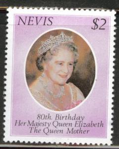 Nevis Scott 113 MNH** 1980 Queen Mother 80'th Bday