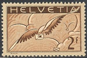 Switzerland #C15 Mint VF lightly hinged