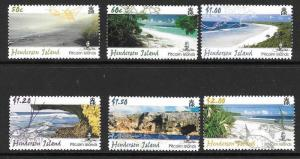PITCAIRN ISLANDS SG704/9 2005 SCENERY (2nd ISSUE ) MNH