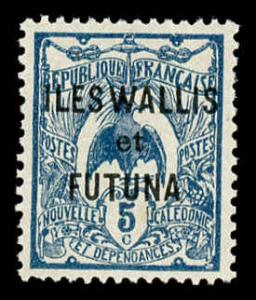 Wallis and Futuna Islands 5 Unused (MH)