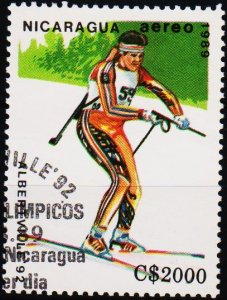Nicaragua. 1989 2000cor S.G.3040  Fine Used