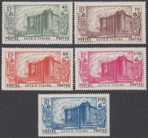 Ivory Coast B3-B7 MLH CV $43.75