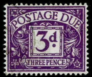 SGD30, 3d violet, FINE USED, CDS. WMK GVIR
