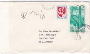 France Guyane terre de l espace  stamps cover  R20246