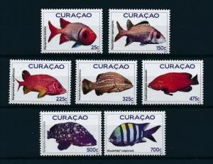 [CU066] Curacao 2012 Marine Life Fish MNH # 66-72