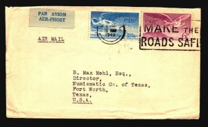 Ireland 1948 Flight Cover to USA / Creasing - Z17840