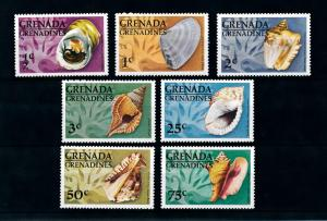 [99662] Grenada Grenadines 1976 Marine Life Sea shells  MNH