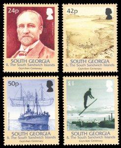 South Georgia 2004 Scott #320-323 Mint Never Hinged
