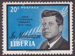 Liberia 414 President Kennedy 1964