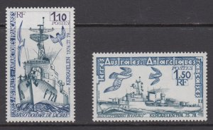 French Southern & Antarctic Territories   #84-85   mnh      cat $2.05