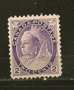 Canada 76 Queen Victoria Used
