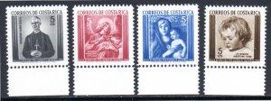 COSTA RICA RA16-RA19 MNH SCV $1.80 BIN $.90 RELIGION