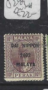 MALAYA JAPANESE OCCUPATION PERAK (P0905B)  DN 10C  SG J249   MNH
