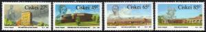 Ciskei - 1991 Frontier Forts Set MNH** SG 202-205