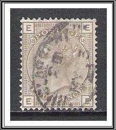 Great Britain #84 Queen Victoria Pl 18 Used