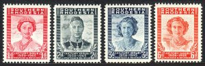 Southern Rhodesia 67-70, MLH. Victory of the Allied Nations in WWII, 1947