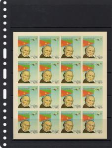 Eritrea 1980 Concorde/Sir Rowland Hill/London 80 Mini-Sheetlet(16) Imperforated