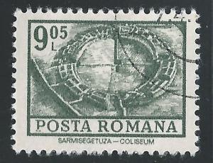 Romania #2364 9.05L Excavated Coliseum Sarmizegetusa CTO