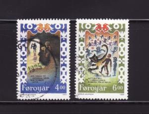 Faroe Islands 271-272 U Scenes