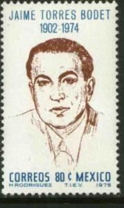 MEXICO 1141 In Memoriam Jaime Torres Bodet Director of UNESCO MNH
