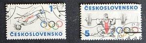 Czech Republic, Sport, Olympian Games, Czechoslovakia, №1121-Т