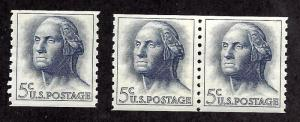 1229 Mint,OG,NH... Single and Pair... SCV $4.50
