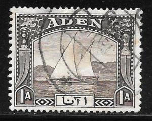 Aden 3: 1a Dhow, used, F-VF